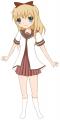 歳納京子を頑張って描いた
