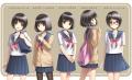 ショートヘア×女子高生 (1)