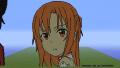 Minecraftでアスナ(SAO)/kairu
