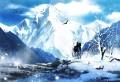 霊峰を望む